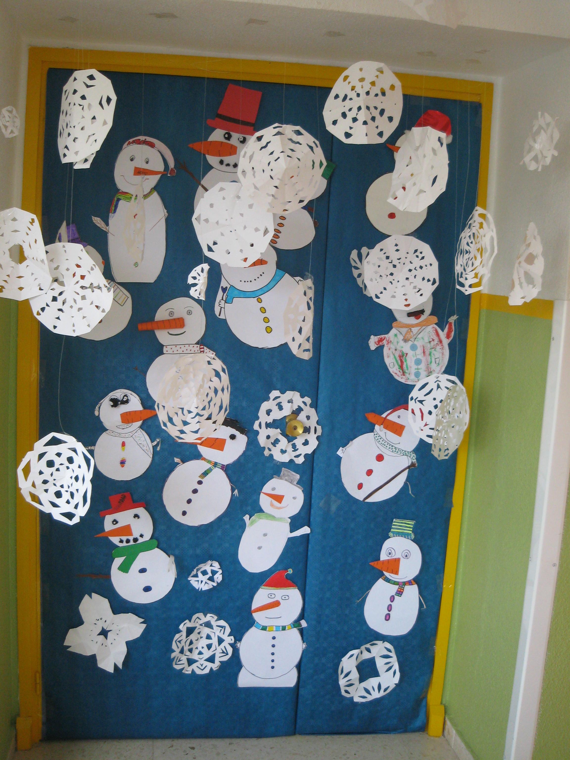 Puertas navide as corver art for Puertas navidenas decoradas 2014